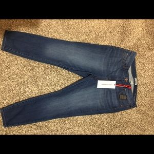 Molly and Isadora Ankle Skinny Jeans